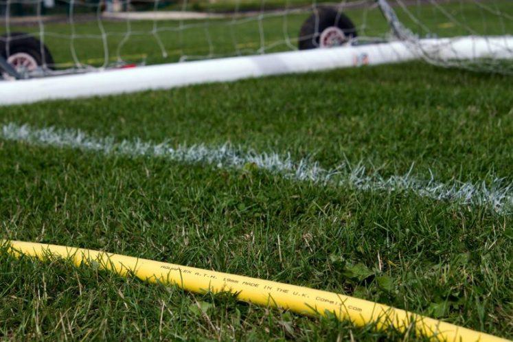 Aquaflex provided by Copely for Lutterworth Football Club