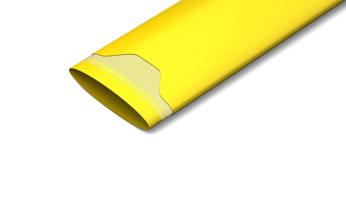 Yellow Layflat Hose