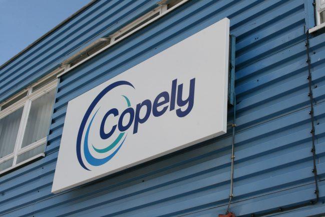 Copely Developments Sign