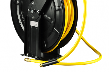 mounted hose reel