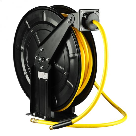 mounted hose reel