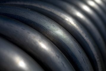 black rubber hose