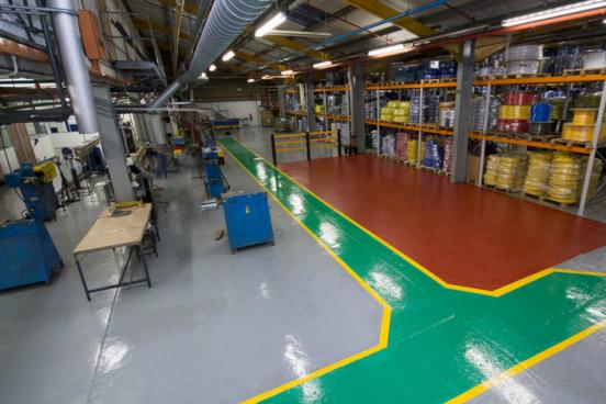 Copely Developments new flooring